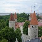 Tallinn old town walls